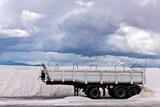 Old Truck On Salt Flat in Salta, Argentina