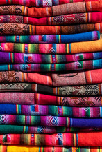 Pile Of Colorful Indigenous Fa...