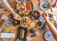 Japanese Sushi Sashimi Izakaya