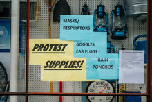Protest Supplies For Sale