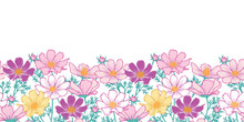 Floral Seamless Pattern With C...