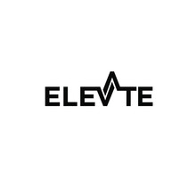 Elevate Text Logo Icon Vector Illustration Design Isolated White Background