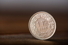 One Swiss Frank Coin