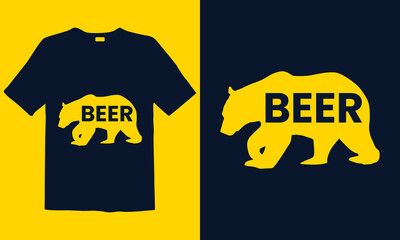Beer Lover t-shirt templates. Good for greeting card and t-shirt print, flyer, poster design, mug.