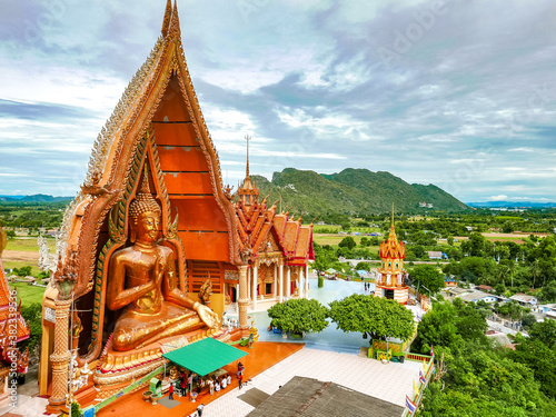 Photo Tiger Cave Temple (Wat Tham Sua) ,it is very popular with tourists and foreigner