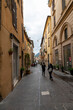 architecture of alleys, squares and buildings of the city of Rieti