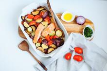 Cooking Healthy Diet Vegetaria...