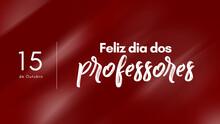 Dia Dos Professores, 15 De Out...