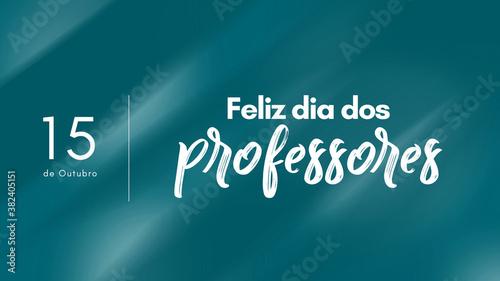 Fotografie, Obraz Dia dos professores, 15 de Outubro