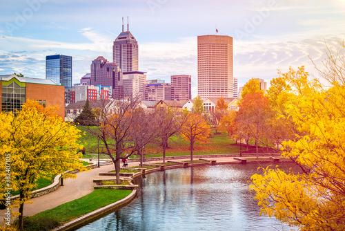 Fototapeta Indianapolis, Indiana, USA