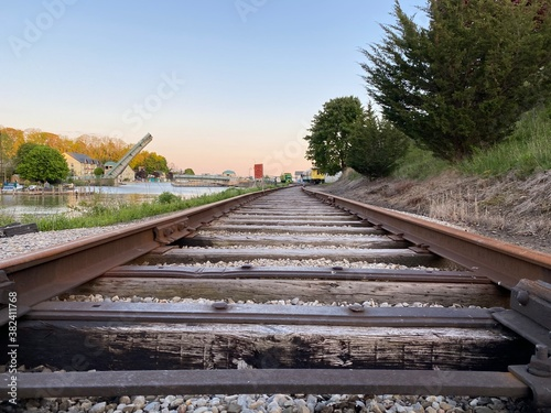 Fotografie, Obraz railway in the countryside