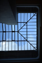 Skylight In The Ceiling On A Sunny Day