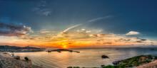 Port Of Ibiza, Bay Of Marina Botafoc.