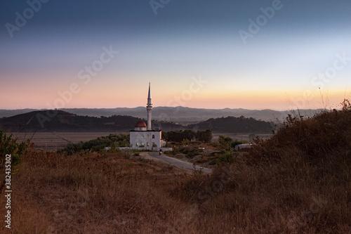 Fotografia, Obraz Minareto, moschea  Kavajë, albania
