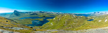 Hiking In Jotunheimen National Park In Norway, Synshorn Mountain