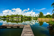Lakefront Community With Luxury Estate Homes In Miami