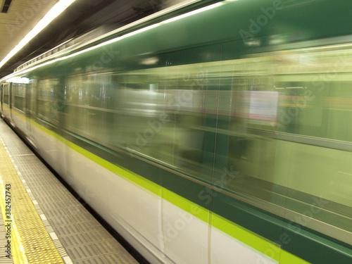 Fototapeta 通勤電車