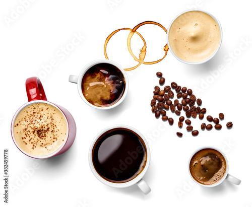 coffee cup drink espresso cafe mug cappuccino aroma mug breakfast hot black beve Canvas-taulu