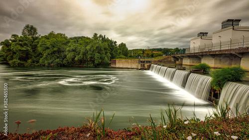Stampa su Tela hydroélectrique barrage 2