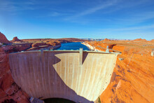 Glen Canyon Dam - Located In A...