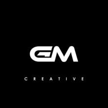 GM Letter Initial Logo Design ...