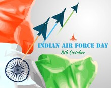 Indian Air Force Day-vector Il...