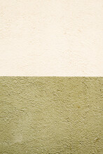 White And Khaki Cement Wall