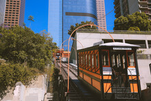 Angels Flight Railway, Downtown Los Angeles, California