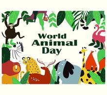 World Animal Day On October 4....