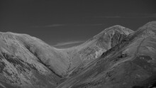 Lingmell And Scafell Pike Mono...