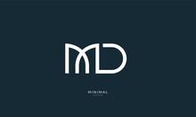 Alphabet Letter Icon Logo MD