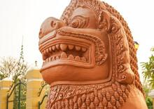 Statue In Cambodia
