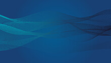 Deep Blue Background With Abst...