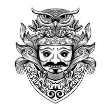 Javanese Mask Culture Artwork ...