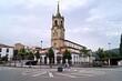 Igreja na cidade de Colunga na Rota Norte do Caminho de Santiago / Espanha