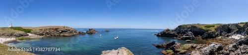 Fotomural Pointe des Poulains, western coast of Belle-Ile-en-Mer, Brittany, France