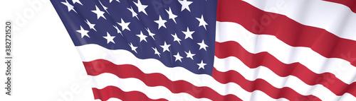 Foto states of america usa democracy map flag