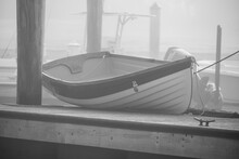 Dingy On The Dock