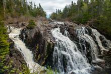 Multiple Waterfalls Of White R...