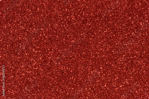 red glitter texture abstract background - 382760722
