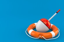 Fishing Float With Life Buoy