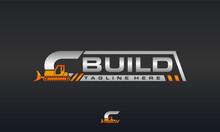 Bulldozer Letter C Logo