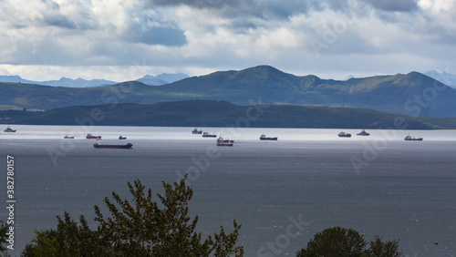Fotografie, Obraz On the Kamchatka roadstead in Avacha Bay