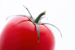 canvas print picture - tomaten close up vor weiss