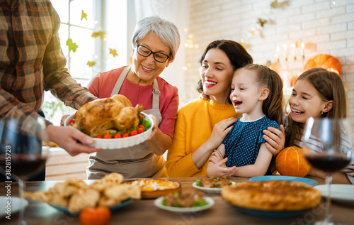 Fototapeta Happy Thanksgiving Day! obraz