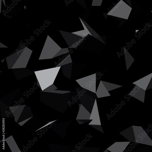 Fotografía Low poly triangular, triangles vector background