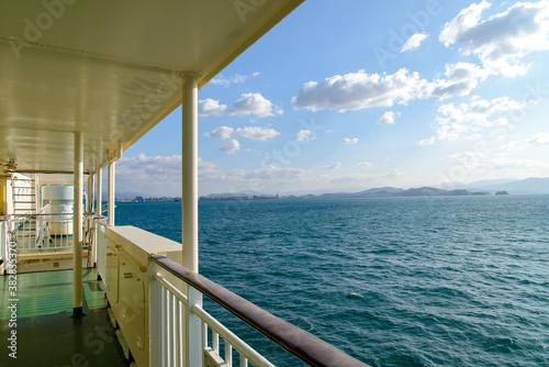 Fotografie, Obraz 航行中の南海フェリーから瀬戸内海を望む
