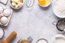 Ingredients For Baking - Flour...