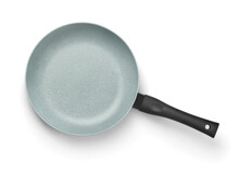 Top View Of Ceramic Coated Non Stick Fry Pan