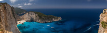 Panorama Of Amazing Navagio Be...